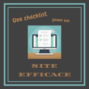 Checklist pour un site efficace