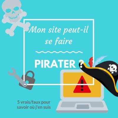 Un site peut-il se faire pirater ?