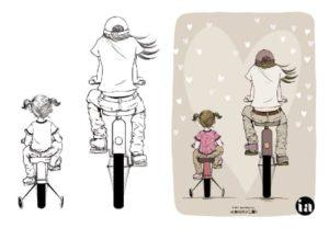 Carte postale d'Isa André