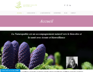Site de Laurence Guillon Naturopathe