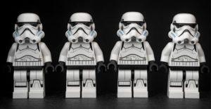 les clones stormtrooper