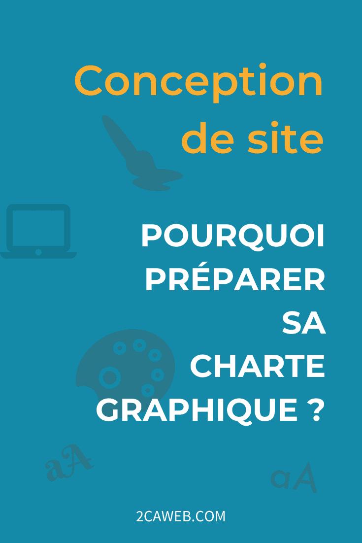 Conception de site : pourquoi préparer unecharte graphique