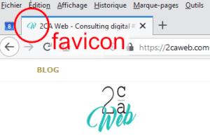 Favicon du site 2caweb.com
