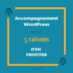 5 raisons pour se faire accompagner sur WordPress