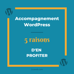 Accompagnement WordPress : 5 raisons d'en profiter